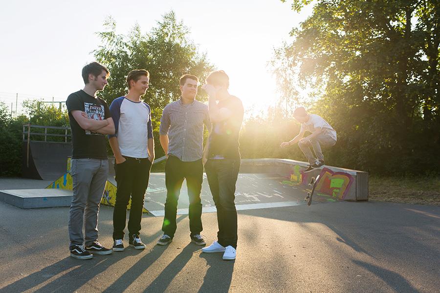 skatepark schneeberg band