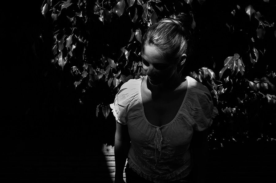 dark portrait Romy