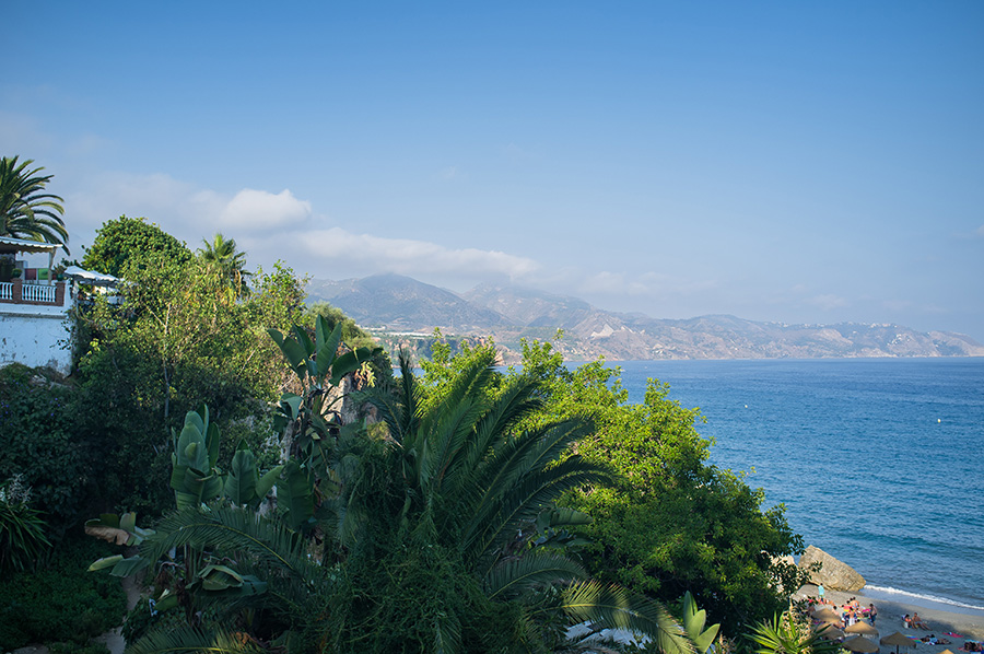 spain coastal view nerja